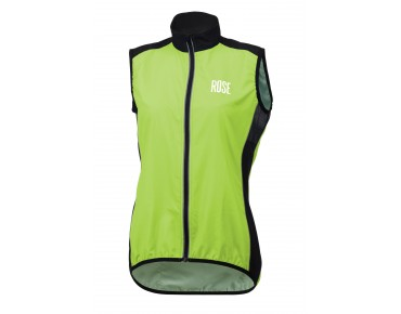 ROSE PRO FIBRE women's wind vest green/black