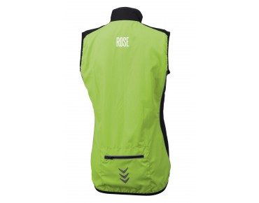 ROSE PRO FIBRE women's windproof vest green/black