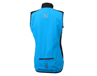 ROSE PRO FIBRE women's wind vest sky/black