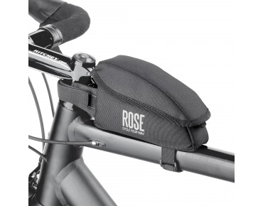 ROSE BLACK EDITION TOP top tube frame bag black