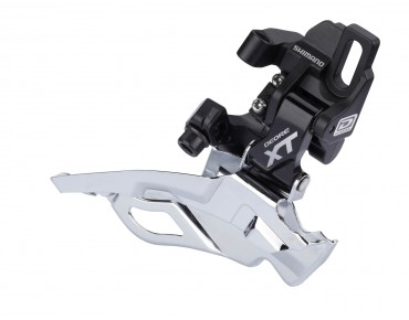 SHIMANO Deore XT FD-M781-A-10-D6 — High Direct Mount — front derailleur black