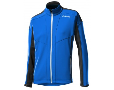 Löffler WINDSTOPPER SOFT SHELL WARM Damen Jacke royal
