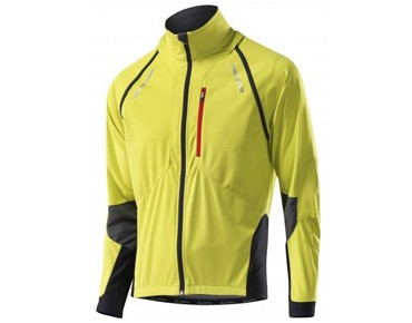 Löffler SAN REMO GORE WINDSTOPPER SOFTSHELL LIGHT zip-off jacket lemon