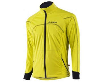 Löffler WINDSTOPPER SOFTSHELL LIGHT Rad Jacke Zitrone