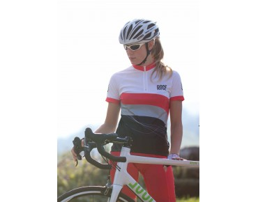 ROSE WAVES women's jersey black/white/red