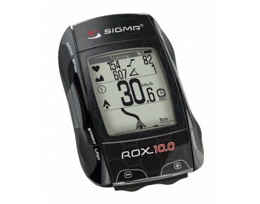 Sigma ROX 10.0 GPS Basic bike computer black