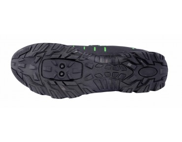 ROSE RTS 06 Trekkingschuhe black/green