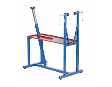 Cyclus assembly stand workshop version blau