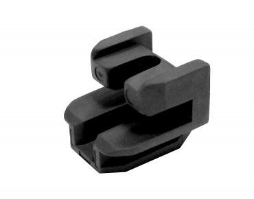 Bosch guide rail adapter for 4 mm rack tubes