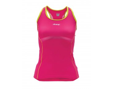 ZOOT PERFORMANCE TRI BYOB TANK beet/flash
