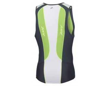 ZOOT PERFORMANCE TRI TANK green flash/pewter