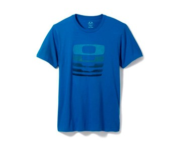 OAKLEY STACKS ON STACKS T-Shirt electric blue