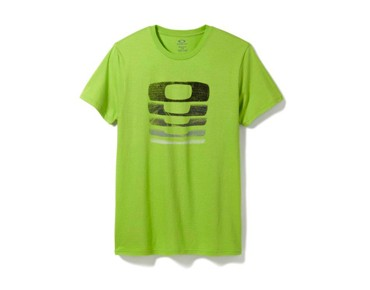OAKLEY STACKS ON STACKS T-shirt lime green