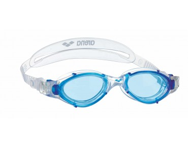 Arena Nimesis X-fit goggles transparent/blue mirror