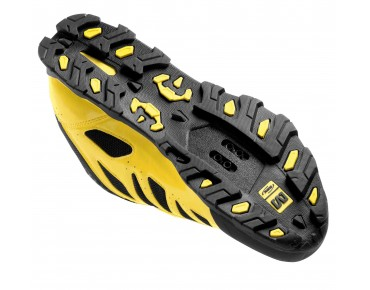MAVIC CROSSMAX MTB/trekking shoes yellow/black