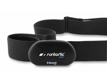 Runtastic Heart Rate Combo Monitor Brustgurt Bluetooth schwarz/grau