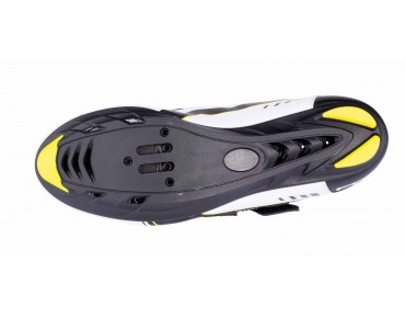 ROSE RRS 09 road shoes black/white/fluo yellow