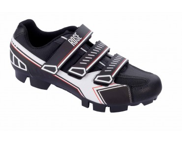 ROSE RMS 07 MTB shoes black/white/red