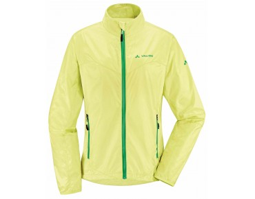 VAUDE DYCE women's windproof jacket soft yellow