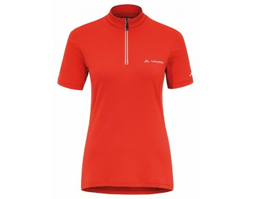 VAUDE FISK II Damen Bike Shirt glowing red