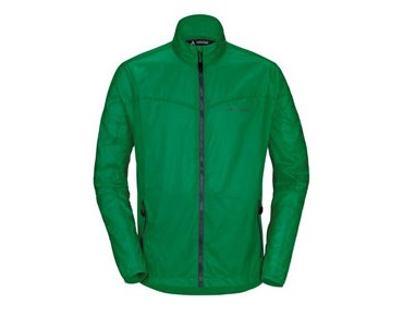 VAUDE DYCE windproof jacket trefoil green