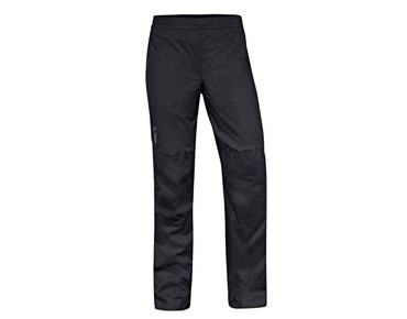 VAUDE DROP PANTS III waterproof trousers for women – short inseam – black