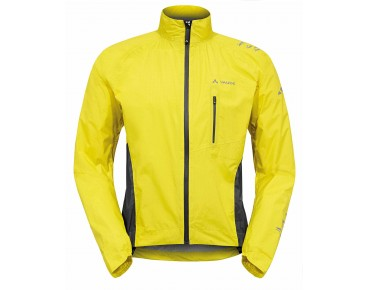 VAUDE SPRAY JACKET IV all-weather jacket canary