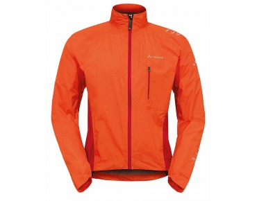 VAUDE SPRAY JACKET IV all-weather jacket glowing red