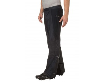 VAUDE SPRAY PANTS III waterproof trousers black