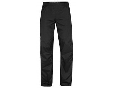 VAUDE SPRAY PANTS III waterproof trousers – short inseam – black