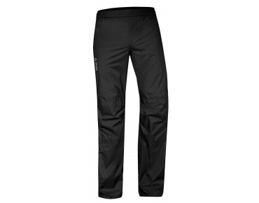 VAUDE DROP II waterproof trousers black