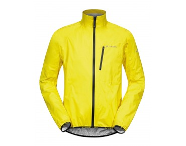 VAUDE DROP JACKET III all-weather jacket canary