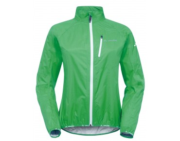 VAUDE DROP JACKET III waterproof jacket for women grasshopper