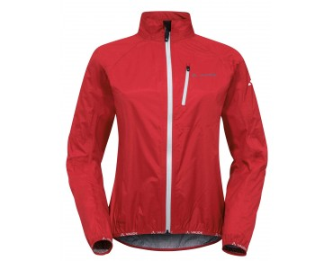 VAUDE DROP JACKET III waterproof jacket for women red