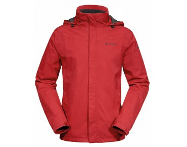 VAUDE ESCAPE BIKE LIGHT JACKET Regenjacke red