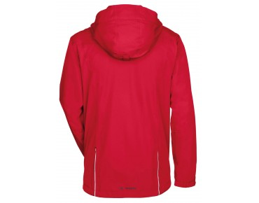 VAUDE ESCAPE BIKE LIGHT JACKET regenjack red