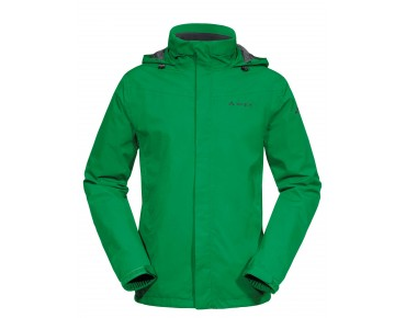 VAUDE ESCAPE BIKE LIGHT JACKET regenjack trefoil green
