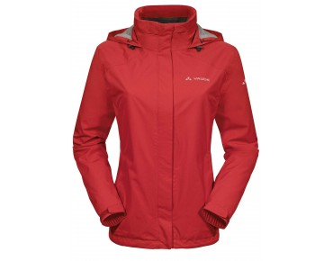 VAUDE ESCAPE BIKE LIGHT JACKET women's all-weather jacket red