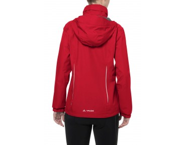 VAUDE ESCAPE BIKE LIGHT JACKET all-weather damesjack red