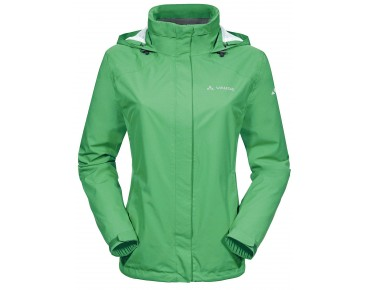 VAUDE ESCAPE BIKE LIGHT JACKET women's all-weather jacket grasshopper