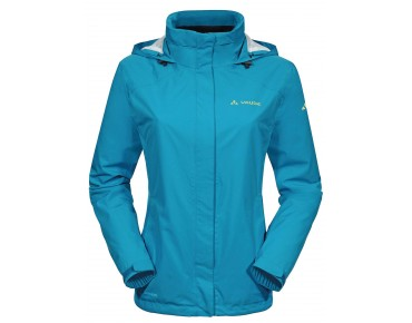 VAUDE ESCAPE BIKE LIGHT JACKET all-weather damesjack teal blue