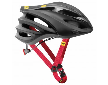 MAVIC SYNCRO Rennrad & Cross-Country Helm black/red