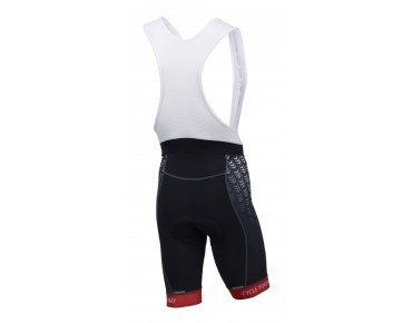 ROSE RACE PRO bib shorts – RECOMMENDED BUY 07/14 MountainBIKE – black/red