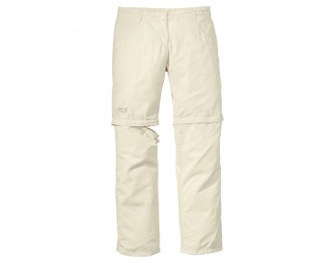 Jack Wolfskin MARRAKECH ZIP OFF TROUSERS white sand