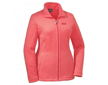 Jack Wolfskin MIDNIGHT MOON WOMEN fleece jacket grapefruit