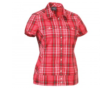 Jack Wolfskin SALT LAKE SHIRT WOMEN grapefruit checks
