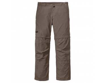 Jack Wolfskin CANYON ZIP OFF PANTS Hose siltstone