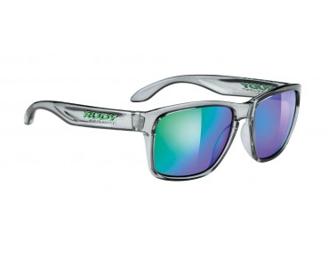 RUDY PROJECT SPINHAWK Brille crystal ash/multilaser green