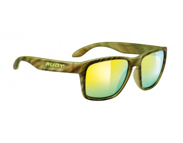 RUDY PROJECT SPINHAWK glasses camouflage green/multilaser lime
