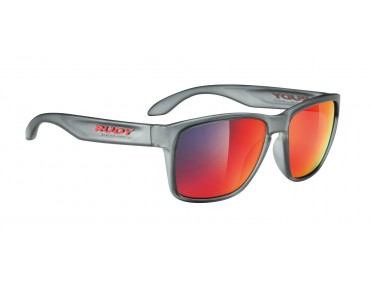 RUDY PROJECT SPINHAWK Brille frozen ash/multilaser red